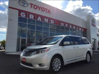 Used 2016 Toyota Sienna XLE 7 Passenger LIMITED AWD for sale in Pickering, ON