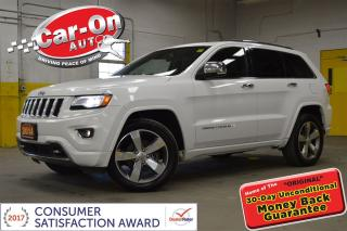 Used 2014 Jeep Grand Cherokee OVERLAND 4X4 LEATHER NAV PANO ROOF REMOTE START for sale in Ottawa, ON