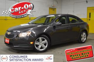 Used 2014 Chevrolet Cruze DIESEL LEATHER SUNROOF REMOTE START for sale in Ottawa, ON