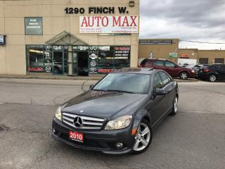 Used 2010 Mercedes-Benz C250 C 250, Navigation, 4Matic, AMG PKG for sale in North York, ON