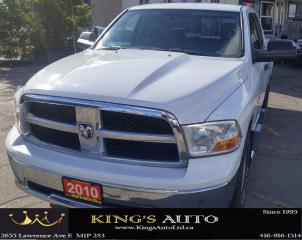 Used 2010 Dodge Ram 1500 SLT, V8 5.7L, 4X4, CREW CAB for sale in Scarborough, ON