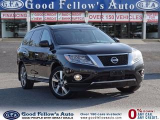 Used 2014 Nissan Pathfinder PLATINUM, AWD, 6CYL, 3.5 L, ENTERTAINMENT Pkg for sale in North York, ON