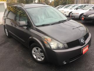 Used 2005 Nissan Quest SL/7PASS/ALLOYS/LOADED/CLEAN for sale in Scarborough, ON