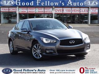 Used 2015 Infiniti Q50 PREMIUME MODEL, AWD, LEATHER SEATS, SUNROOF, 6CYL for sale in North York, ON