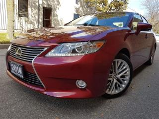 Used 2014 Lexus ES 350 Navigation-New tires-Certified for sale in Mississauga, ON