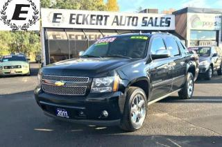 Used 2011 Chevrolet Avalanche LTZ 4X4 WITH NAV/LEATHER/SUNROOF for sale in Barrie, ON
