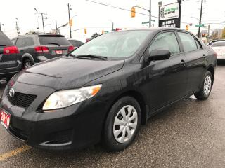 Used 2010 Toyota Corolla CE l No Accidents l New Tires for sale in Waterloo, ON