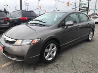 Used 2010 Honda Civic Sport l No Accidents l Sunroof l Alloy for sale in Waterloo, ON