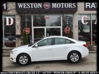 Used 2012 Chevrolet Cruze LT*AUTO*POWER GROUP*A MUST SEE!!* for sale in York, ON