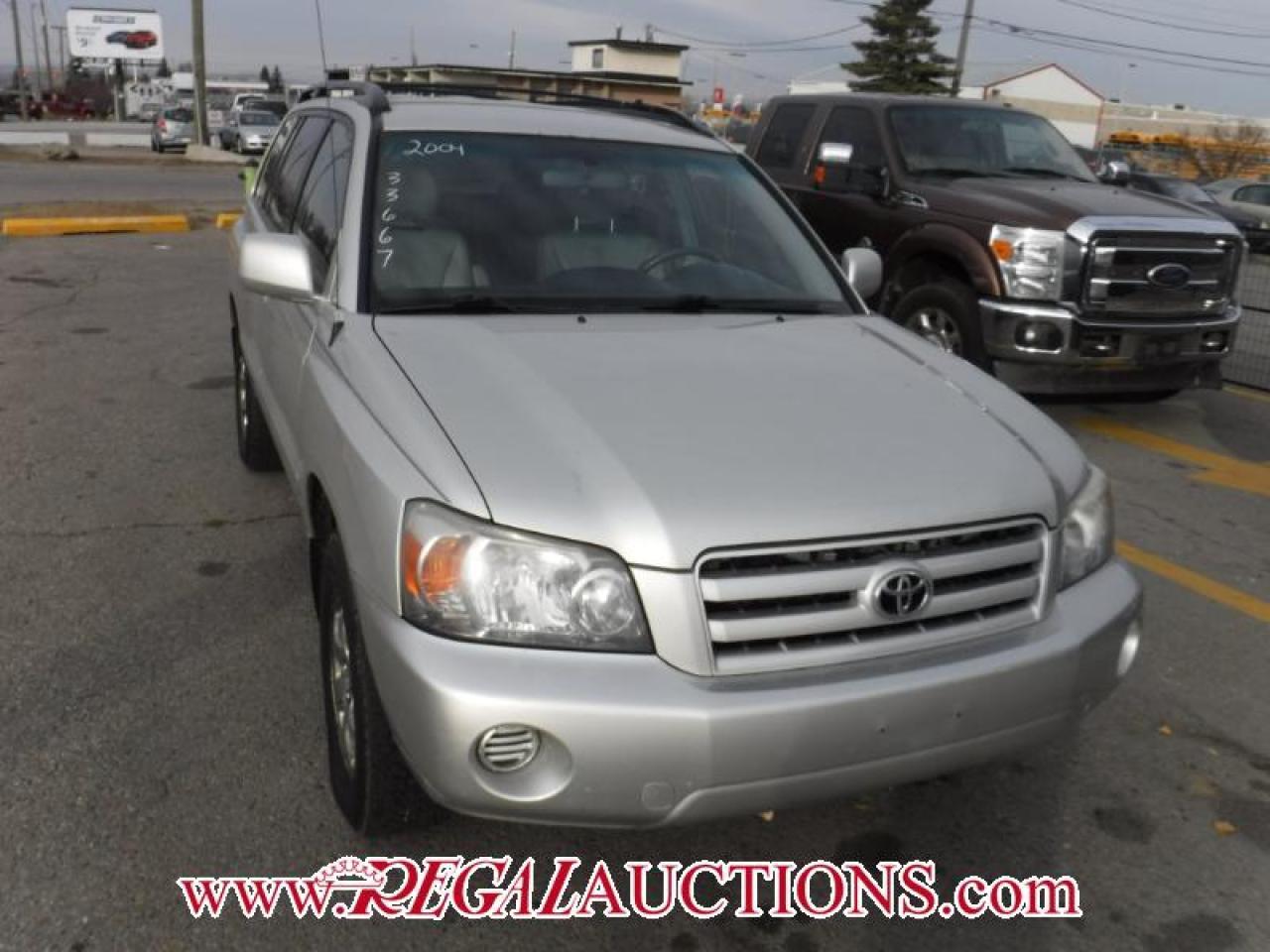 Photo of Silver 2004 Toyota Highlander