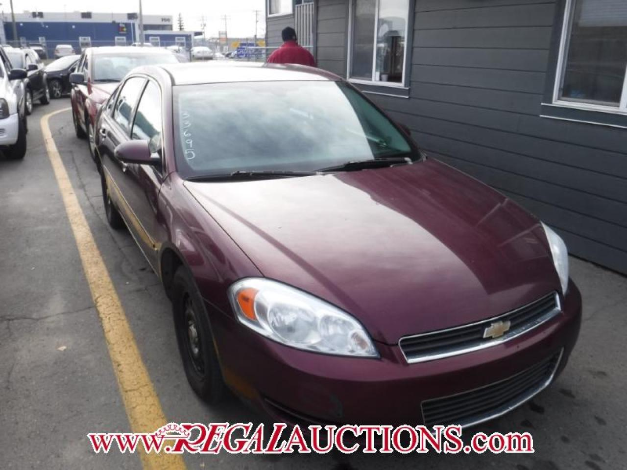 Photo of Burgundy 2007 Chevrolet IMPALA LS 4D SEDAN