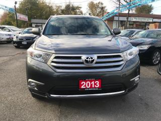 Used 2013 Toyota Highlander 4WD/LEATHER/SUNROOF/NO ACCIDENT/BKUP CAM/7 PASS for sale in Brampton, ON