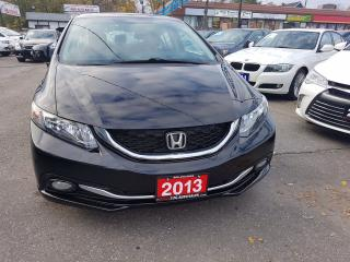 Used 2013 Honda Civic TOURING/NAV/SUNROOF/NO ACCIDENT for sale in Brampton, ON