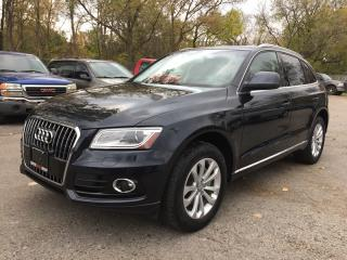 Used 2013 Audi Q5 2.0T PREMIUM * AWD * LEATHER * NAV * PANO SUNROOF * BLUETOOTH for sale in London, ON