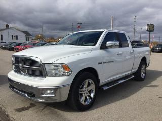 Used 2012 RAM 1500 SLT BIG HORN * 4WD * SATELLITE RADIO SYSTEM for sale in London, ON
