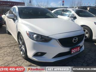 Used 2015 Mazda MAZDA6 GT | NAV | LEATHER | ROOF | HEATED SEATS for sale in London, ON