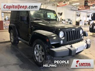 Used 2014 Jeep Wrangler Sahara| Leather| 4X4| Navigation| CD Player for sale in Edmonton, AB