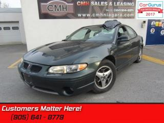Used 2001 Pontiac Grand Prix GT  AS IS - UNCERTIFIED *AS TRADED IN* for sale in St Catharines, ON