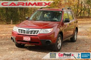 Used 2013 Subaru Forester 2.5X Convenience Package AWD | Alloys | Power WInd for sale in Waterloo, ON
