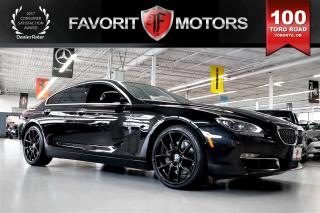 Used 2013 BMW 650i Gran Coupe xDrive NEW ENGINE FROM BMW  | NAV | BACK-UP CAM for sale in North York, ON