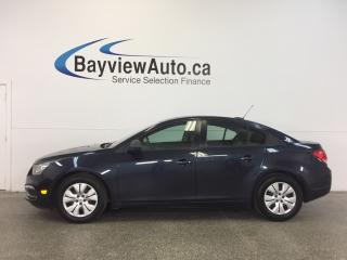 Used 2015 Chevrolet Cruze LS- 6 SPEED! 1.8L! ON STAR! 26,200 KM! GAS BUDDY! for sale in Belleville, ON