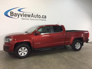 Used 2016 Chevrolet Colorado - 3.6L|4x4!CREW|REV CAM|ON STAR|TOW/HAUL|CRUISE! for sale in Belleville, ON