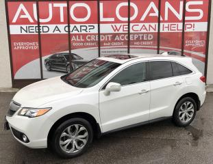 Used 2013 Acura RDX Base TECH PKG-ALL CREDIT ACCEPTED for sale in Scarborough, ON