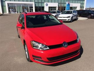 Used 2017 Volkswagen Golf Sportwagon 1.8 TSI Trendline for sale in Calgary, AB