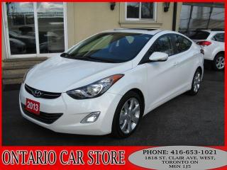 Used 2013 Hyundai Elantra LIMITED LEATHER SUNROOF for sale in Toronto, ON