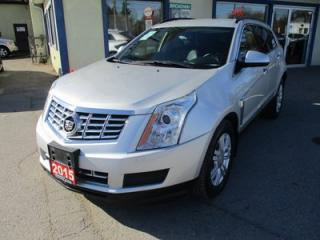 Used 2015 Cadillac SRX LOADED 'SPORTY' 5 PASSENGER 3.6L - V6.. LEATHER.. HEATED SEATS.. BOSE AUDIO.. BLUETOOTH SYSTEM.. ECO-MODE PACKAGE.. for sale in Bradford, ON