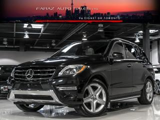 Used 2014 Mercedes-Benz ML 350 ***SOLD***DESIGNO|AMG|NAVI|BLINDSPOT|360 CAM|BLUETEC|LOADED for sale in North York, ON