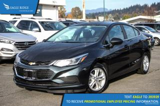 New 2017 Chevrolet Cruze LT Auto Satellite Radio and Backup Camera for sale in Port Coquitlam, BC