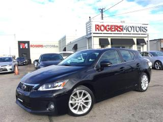 Used 2013 Lexus CT 200h - NAVI - REVERSE CAM - LEATHER - SUNROOF for sale in Oakville, ON