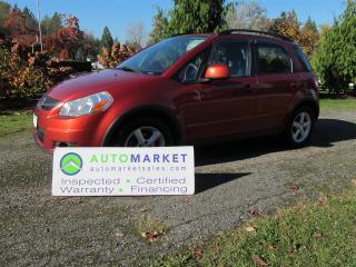 Used 2009 Suzuki SX4 AWD, Auto, Insp, Free Warr for sale in Surrey, BC