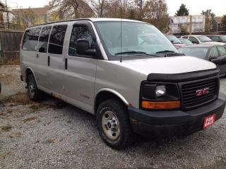 Used 2005 GMC Savana 11 PASSENGERS for sale in Scarborough, ON