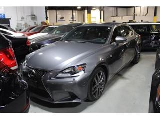 Used 2014 Lexus IS 350 F-SPORT NAVI MOONROOF for sale in Mississauga, ON
