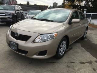 Used 2010 Toyota Corolla - for sale in Vancouver, BC