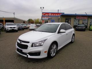 Used 2015 Chevrolet Cruze 2LT LTHR ROOF RS for sale in Brampton, ON