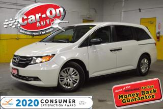 Used 2016 Honda Odyssey FULL PWR GRP DUAL CLIMATE REAR CAM BLUETOOTH for sale in Ottawa, ON