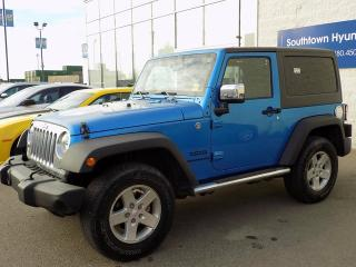 Used 2014 Jeep Wrangler Sport 2dr 4x4 for sale in Edmonton, AB