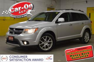 Used 2014 Dodge Journey R/T AWD 7 SEAT LEATHER NAV SUNROOF DVD AUTOSTART for sale in Ottawa, ON