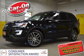 Used 2017 Ford Explorer SPORT 365HP TWIN TURBO AWD LEATHER NAV DUAL ROOF for sale in Ottawa, ON