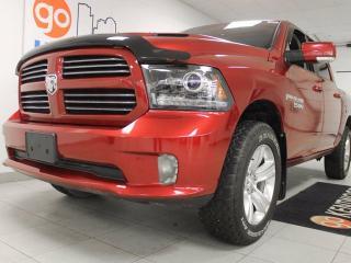 Used 2013 Dodge Ram 1500 Sport 5.7L HEMI, NAV, sunroof, heated/cooled seats, heated steering wheel, and back up cam for sale in Edmonton, AB