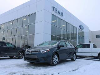 Used 2015 Toyota Corolla LE, ACCIDENT FREE, BLUETOOTH, CRUISE, AIR CONDITIONING, HEATED FRONT SEATS, REAR CAMERA, CLTH, FWD for sale in Edmonton, AB