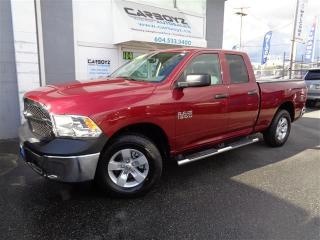 Used 2014 Dodge Ram 1500 SXT 4x4, Quad 6.5 Box, Only 1,743 Kms. Like New!! for sale in Langley, BC