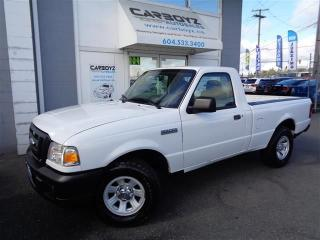 Used 2008 Ford Ranger XL Regular Cab, 2.3L 4 Cyl, Manual for sale in Langley, BC
