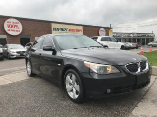 Used 2007 BMW 5 Series |530XI|CLEAN CARPROOF|AWD|FULLY LOADED| for sale in North York, ON