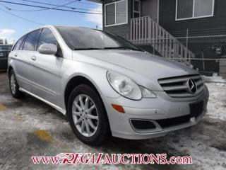 Used 2007 Mercedes-Benz R-CLASS R320 4D UTILITY CDI for sale in Calgary, AB