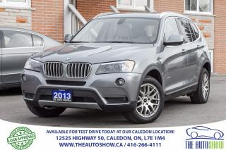 Used 2013 BMW X3 28i | Navi | CAMERA| PANORA ROOF | NO ACCIDENT for sale in Caledon, ON