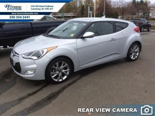 Used 2016 Hyundai Veloster SE DCT  - Certified - Heated Seats for sale in Courtenay, BC